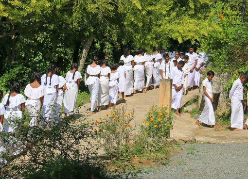 Sati Pasala Programme at Massenna Sri Dewagiri Temple - 10th March 2019