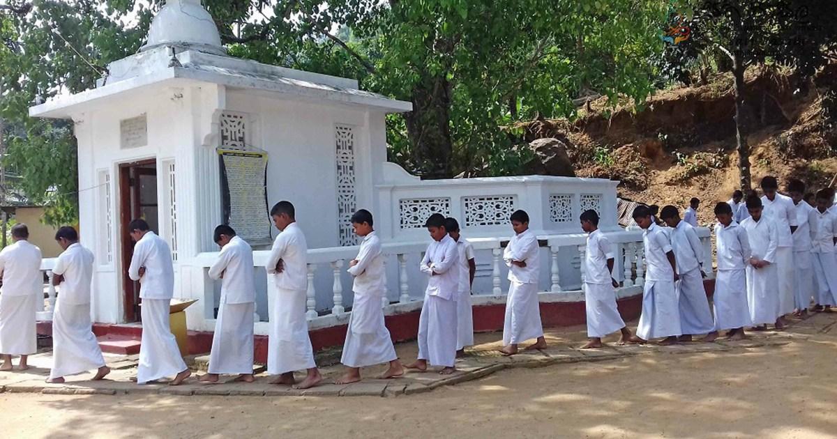 Sati Pasala Programme at Sri Nivasa Pirivena, Kadugannawa