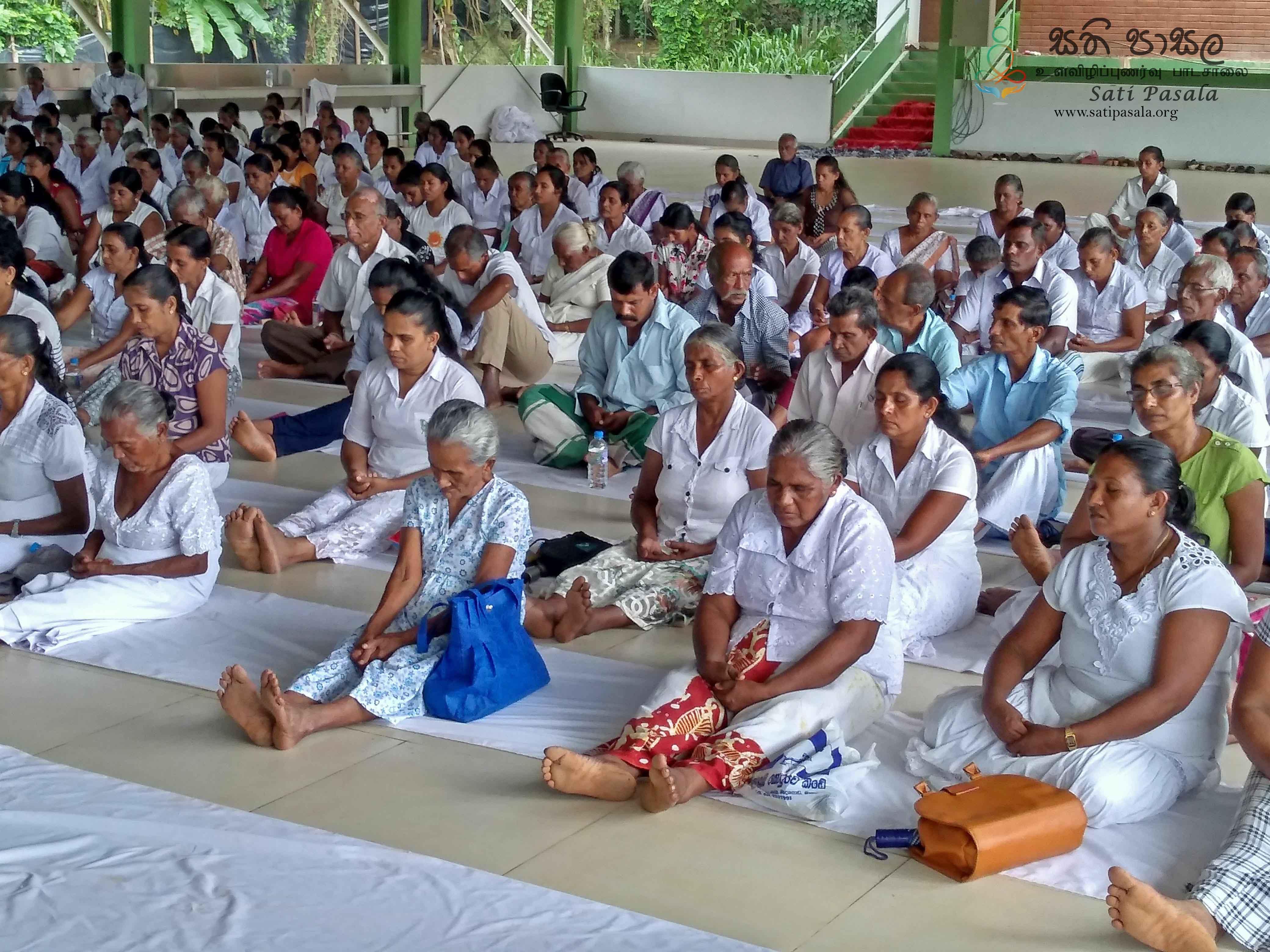 Sati Pasala Mindfulness Programmes at Miami Clothing (Pvt) Ltd