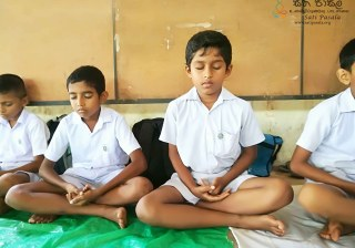 Sati Pasala Mindfulness Programme at Kirindiwela Maha Vidyalaya