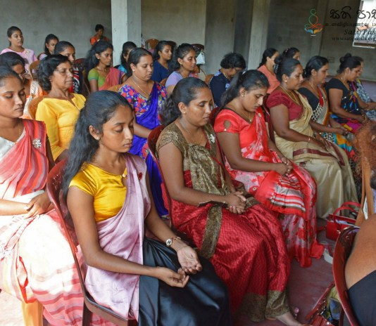 Sati Pasala Mindfulness Programme for Primary Teachers in Galle District