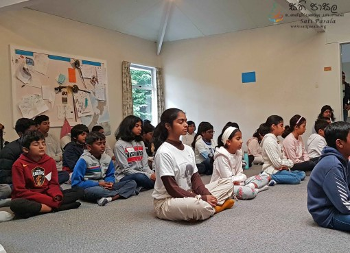 Workshop on Mindfulness at Huntleigh Guide Centre in Crofton Downs, Wellington, New Zealand