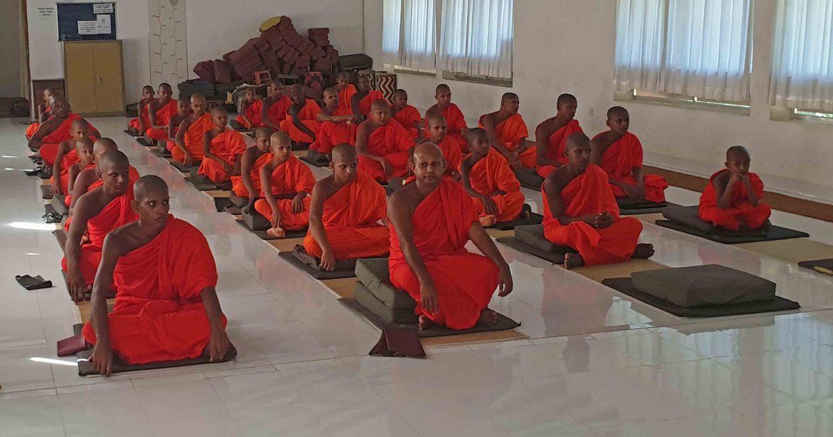 Sati Pasala for Banagala Pirivena, Deniyaya at Mitirigala Nissarana Vanaya