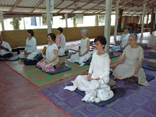 Mindfulness Program for Japanese Visitors at Kaduwela Sati Pasala