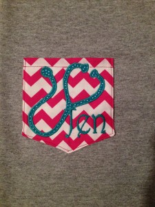 I love this cute nursing / med student monogram from psBlessed shop. So neat!