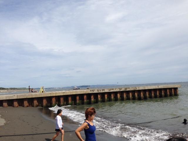 湘南のサザンビーチ