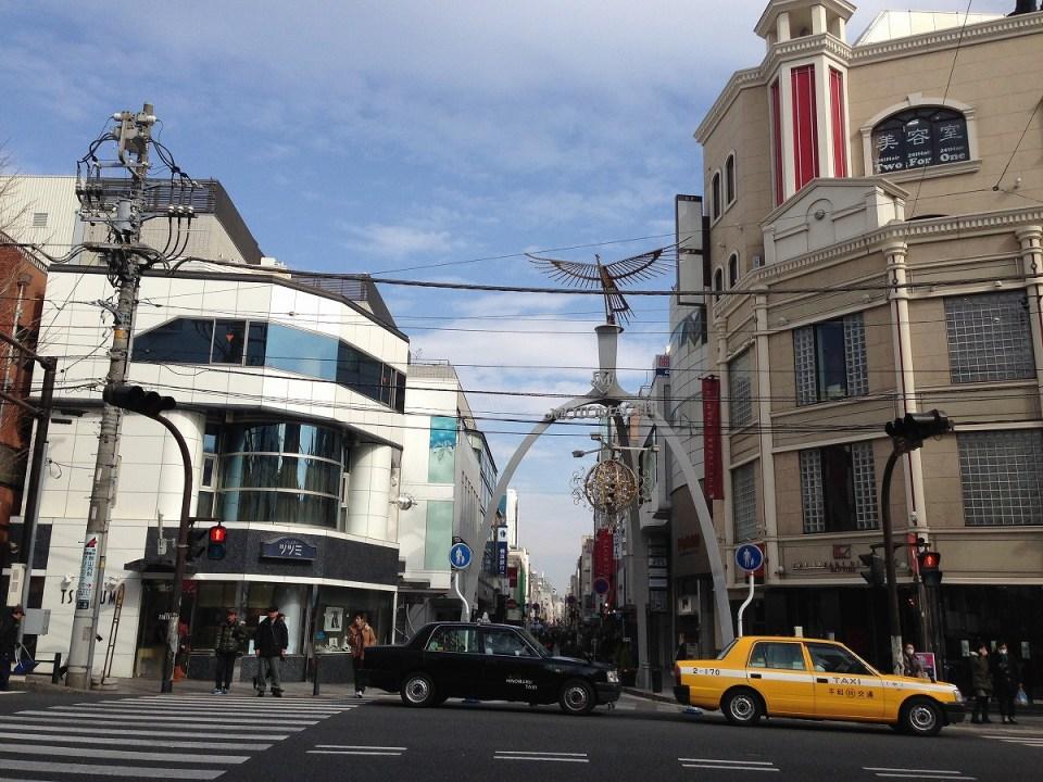 石川町から中華街へ
