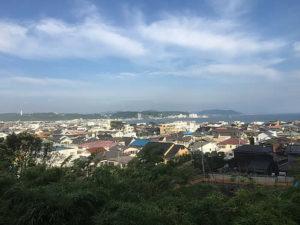 長谷寺(見晴台からの景色)