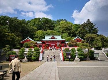 織姫神社の境内