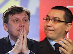 Ponta a recuperat total avantajul iniţial al lui Crin