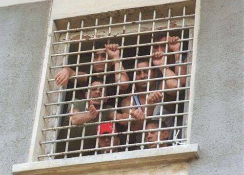Simulare de revoltă la Penitenciar