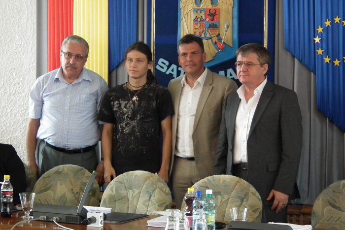 Andrei Bud a fost premiat de Consiliul Județean Satu Mare