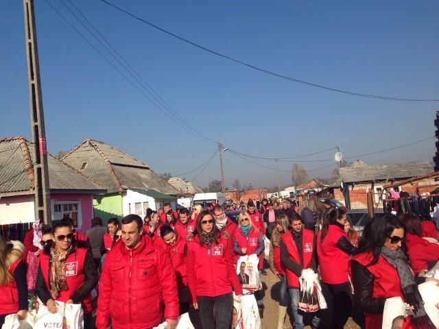 Cetățenii din Gherța Mică și Tarna Mare îl vor pe Victor Ponta președinte