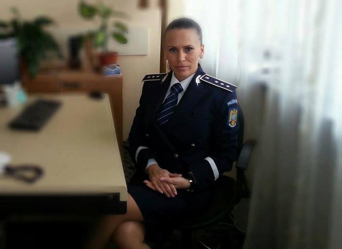 Polițistă din Satu Mare, la concursul de Miss organizat de MAI