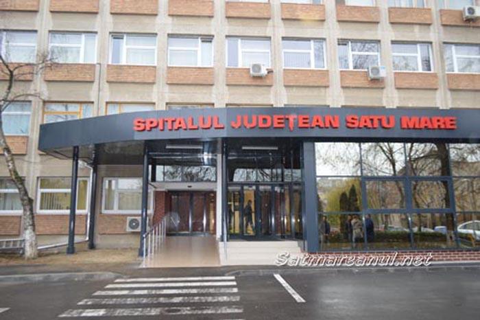 Familie disperată, amendată de poliție la Spitalul Județean