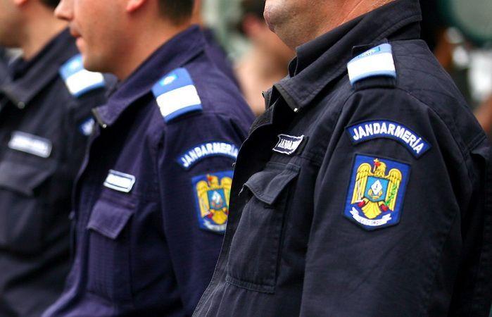 Peste 160 de jandarmi vor asigura ordinea la cumpăna dintre ani