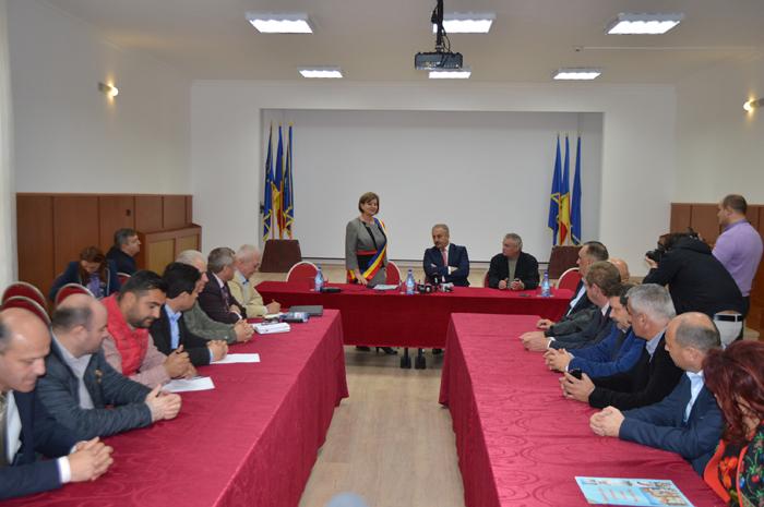 Vasile Dîncu a efectuat o vizită în Negrești-Oaș