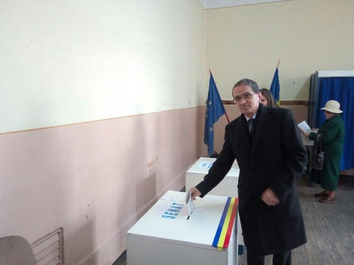 Adrian Albu a votat pentru un viitor mai bun pentru România (Video)