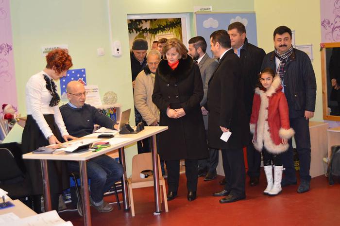 Aurelia Fedorca și Ioana Bran au votat pentru o Românie a tuturor românilor (video)