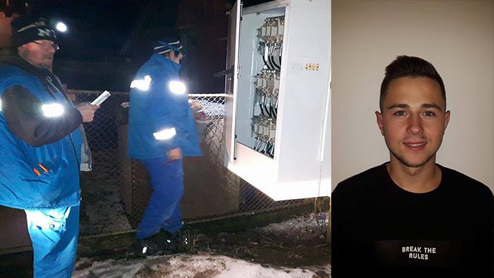 "Scandal la Petin. Un tânăr de 20 de ani a ""sechestrat"" 2 angajați Electrica (foto si video)"