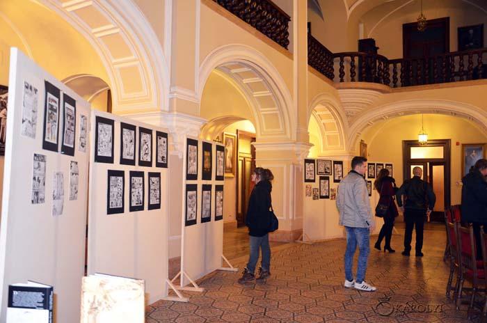 Expoziţie de benzi desenate la Castelul Károlyi din Carei