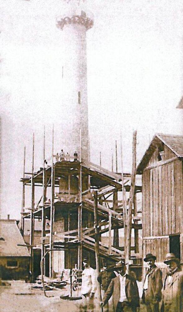 Cum a fost construit Turnul Pompierilor din Satu Mare (Fotografii de arhivă)