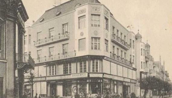 """Cum arăta """"Casa albă"""" din Satu Mare, cu 100 de ani în urmă (Foto)"""