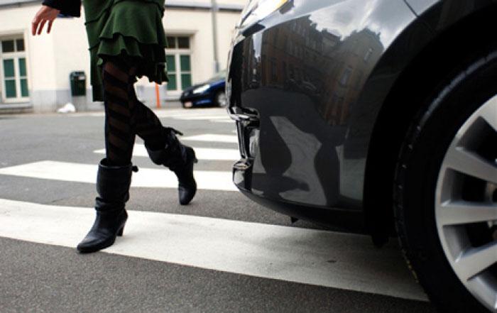Sătmăreancă, rănită într-un accident în Oradea