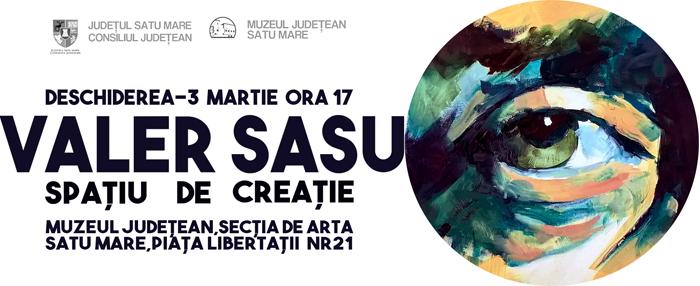 """""""Spațiu de creație"""", semnat de Valer Sasu"""