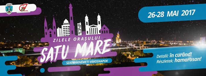 """Trei zile de sărbătoare la Satu Mare. Când vor avea loc """"Zilele Orașului"""""""