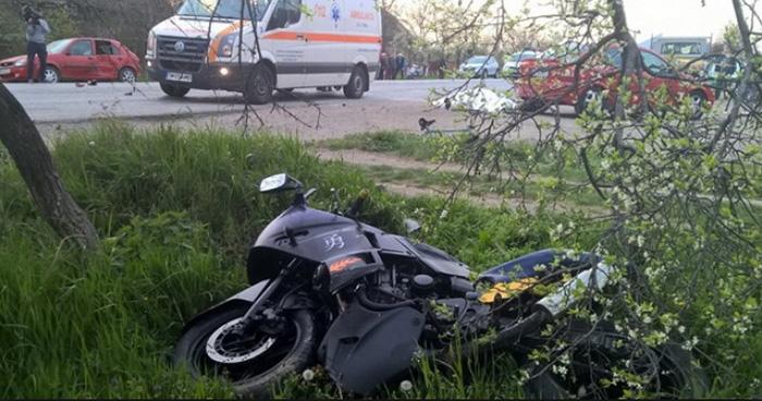 Accident cu un rănit în Vetiș