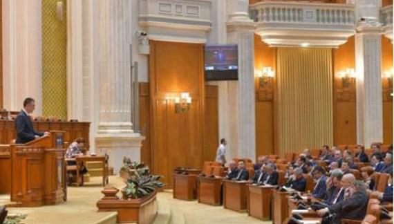 Moţiunea de cenzură împotriva Guvernului Grindeanu, a fost citită în Parlament