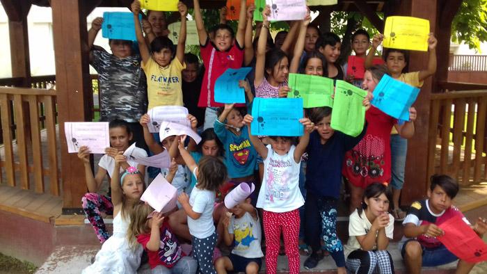 Școală de vară în comuna Odoreu. Au participat zeci de copii (Foto)