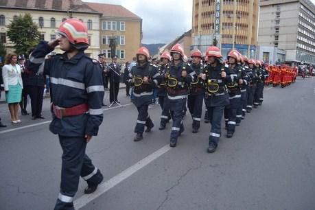 Paradă militară în Negrești-Oaș. Vezi cu ce ocazie