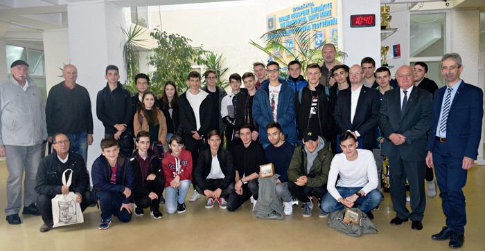 Echipă de baschet din Polonia, în vizită la Satu Mare (Foto)