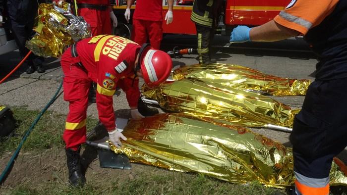 Cel mai grav accident din județ ! Patru morți la ieșirea din Livada (Foto)