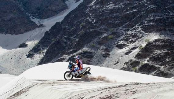 Dakar 2018: Mani Gyenes pe 24 cu două etape înainte de finish