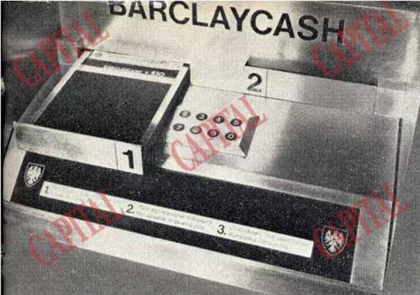 Cum arata primul bancomat din lume. Cine l-a inventat (Foto)