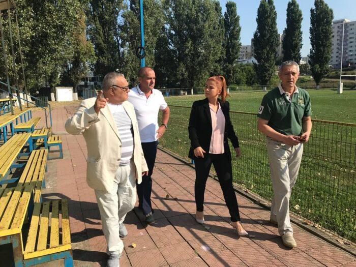Ministrul Ioana Bran, in vizita la bazele sportive din Capitala (Foto)