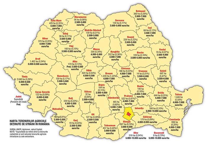 Cât au luat străinii din teritoriul ţării. Harta României aşa cum nu ai mai văzut-o !