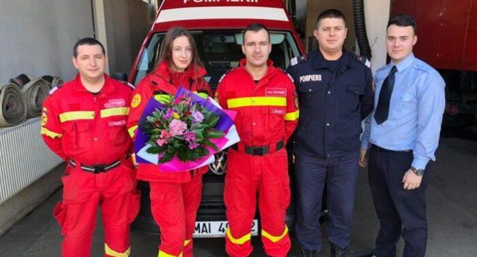 Majorat … la pompieri. Tinerii voluntari nu contenesc să ne uimească (Foto)