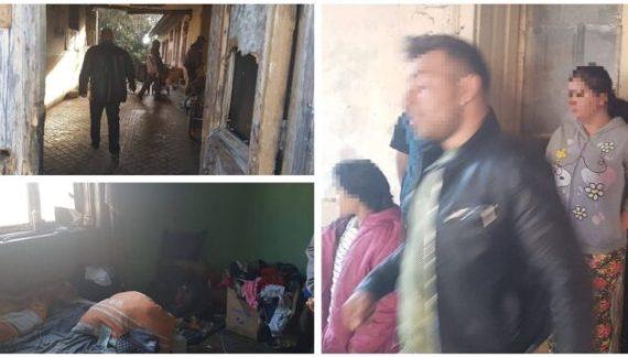 Sătmăreni, evacuați dintr-un imobil din Arad (Foto)