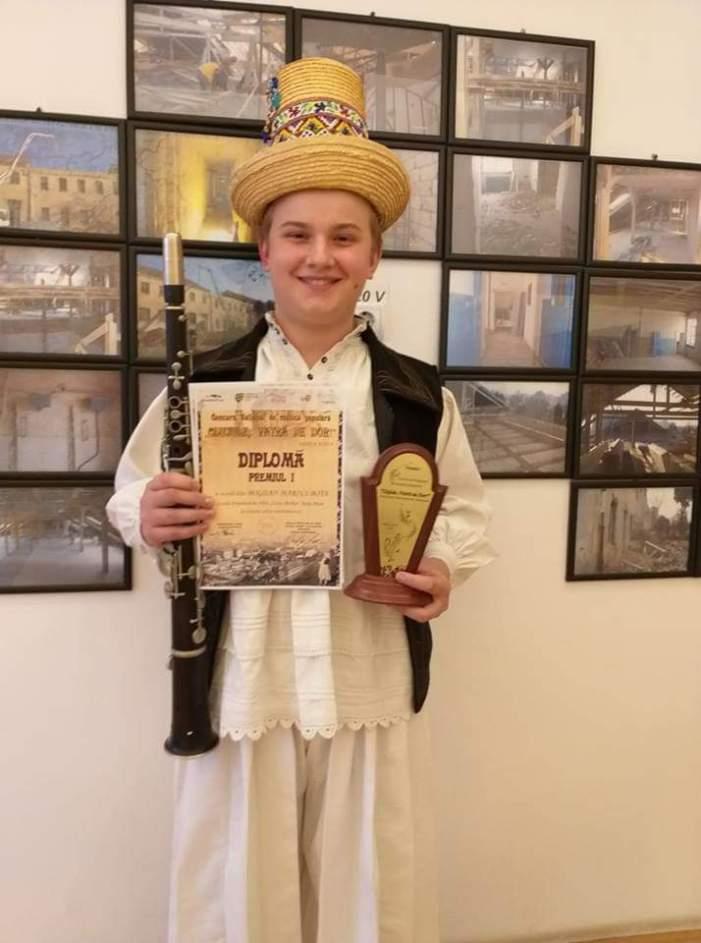 Un copil din Satu Mare, cel mai bun taragotist din țară