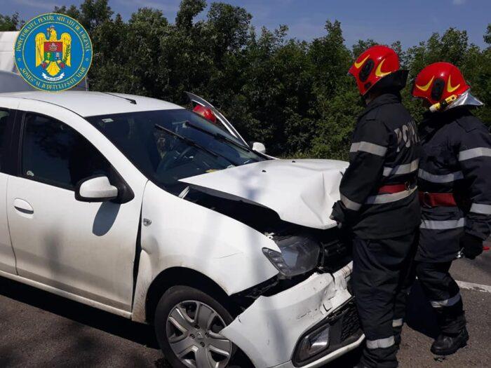 Accident – trei mașini s-au ciocnit la Carei