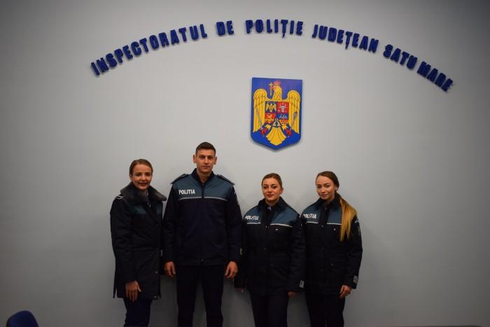 Forțe proaspete la Poliția Județeană