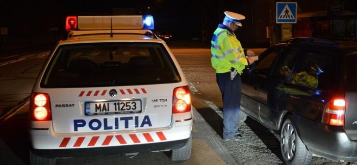 Razii ale Poliției pe șoselele județului. Peste 150 de sancțiuni aplicate