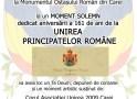 Unirea Principatelor Române- Manifestații la Carei