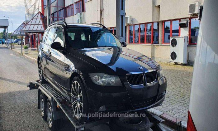 Autoturism furat din Belgia descoperit la Vama Petea