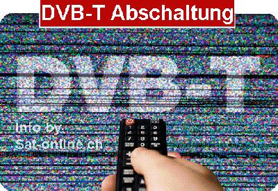 DVB-T Abschaltung in der Schweiz am 3. Juni