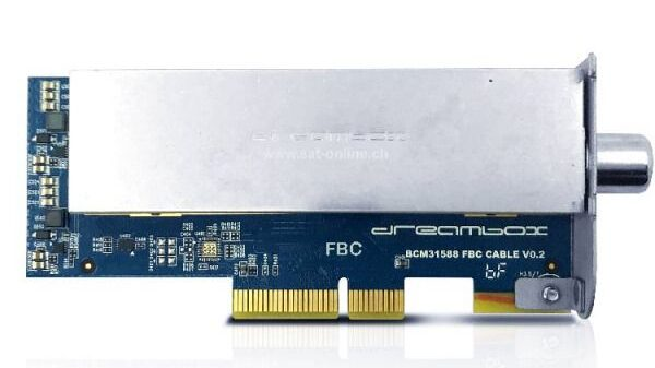 Dreambox DVB-C FBC Tuner endlich lieferbar